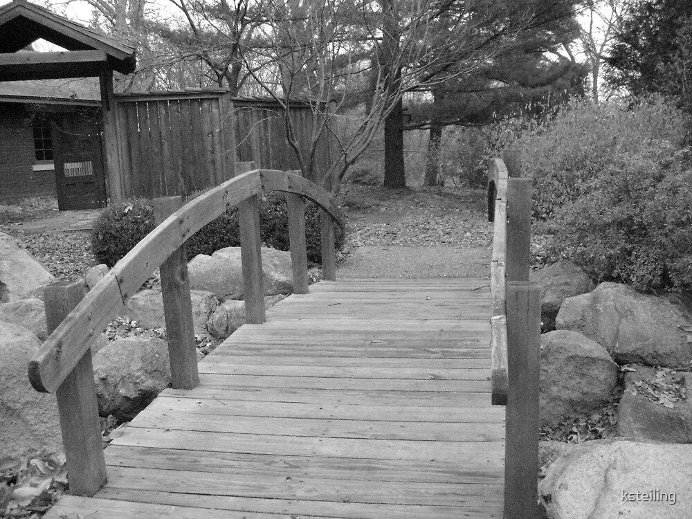 bridge in garden 2 by ksteiling