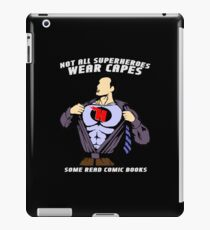 Not All Superheroes Wear Capes iPad Case/Skin