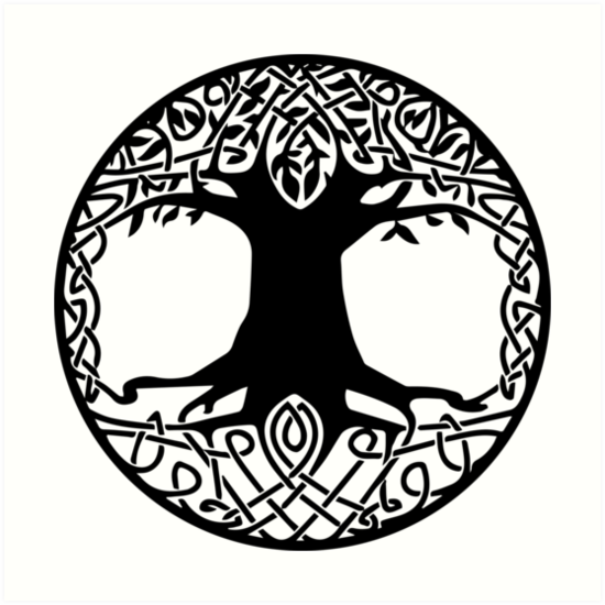 list of synonyms and antonyms of the word yggdrasil symbol