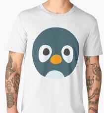 Cute Cartoon Penguin Face Men's Premium T-Shirt