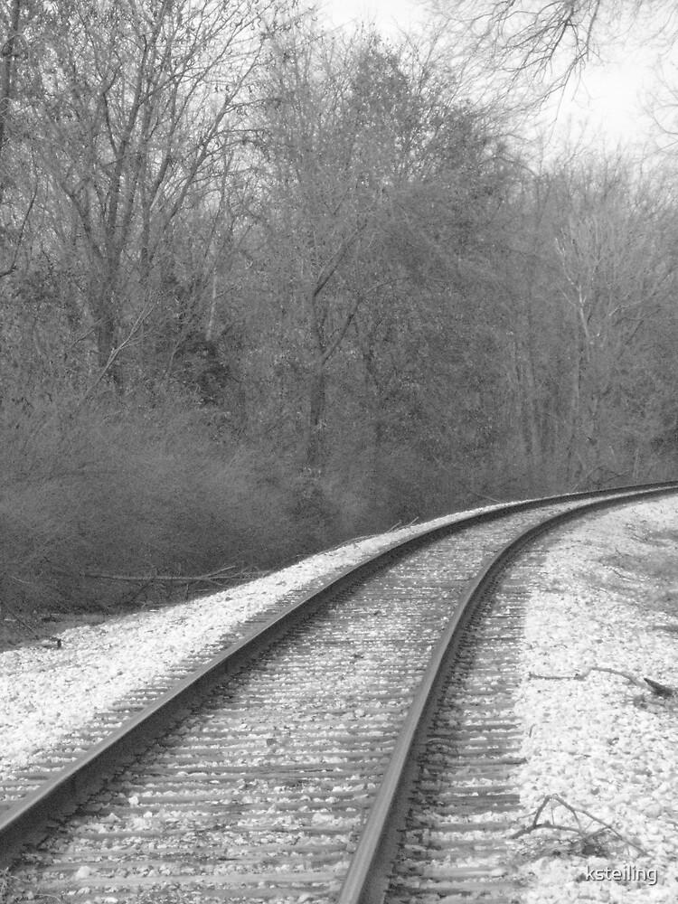 railroad tracks 2 by ksteiling