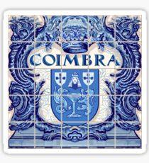 Portugal Coimbra Azulejo Azulejos Sticker