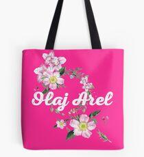 Olaj Arel Flores 2 Tote Bag