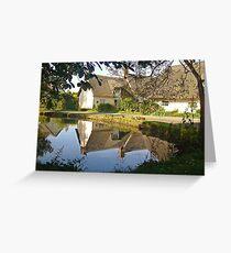 Cottages At Wennington  Greeting Card