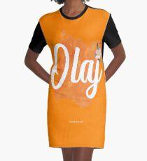 Olaj Graphic T-Shirt Dress