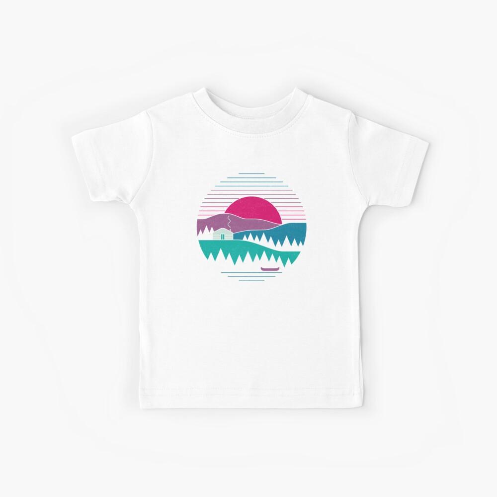 Zurück zum Wesentlichen Kinder T-Shirt