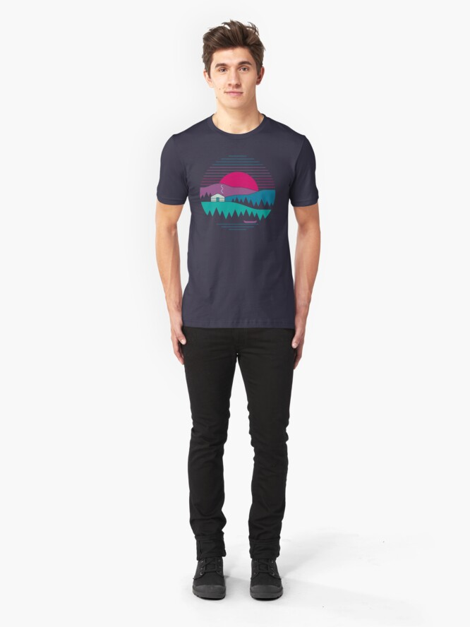 Alternate view of Back to Basics Slim Fit T-Shirt