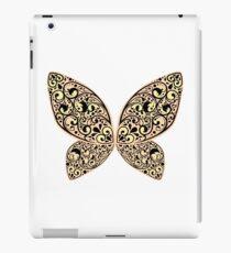 Whimsical Butterfly (Black Orange ver.) iPad Case/Skin