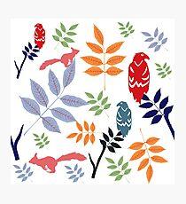 Yggdrasil folk art Photographic Print
