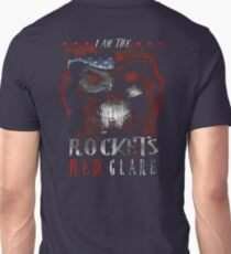 Veteran Gifts - I am The Rockets Red Clare  T-Shirt