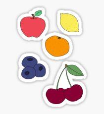 Pop Art Fruit Pack Sticker