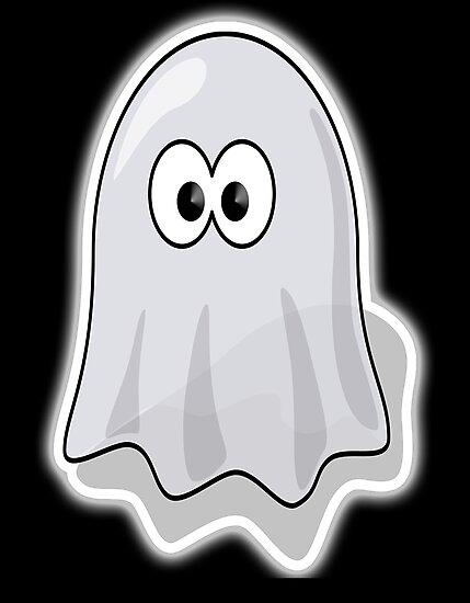 Láminas fotográficas «Fantasma, Lindo, Dibujos animados, Fantasma ...