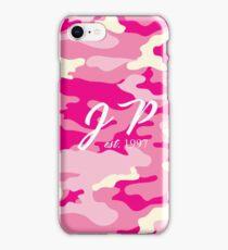 Jake Paul Camo (Pink) iPhone Case/Skin