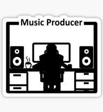 Beatmaker Dj Music Producer T Shirt Sticker