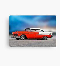 1955 Chevrolet Bel Air Hardtop Canvas Print