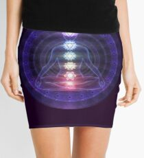 Yoga Meditation Chakra Mini Skirt