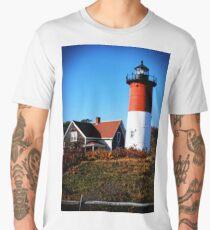 Lighthouse by Jobe Waters Men's Premium T-Shirt