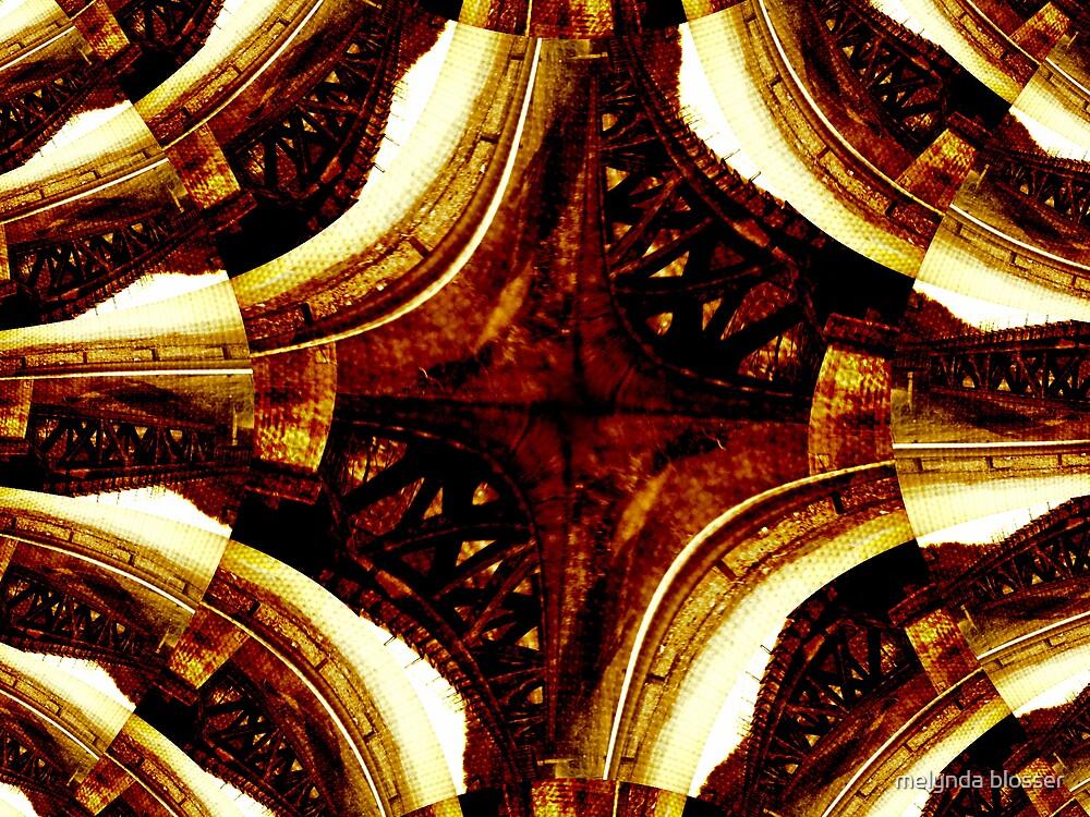 bridge fractal by melynda blosser
