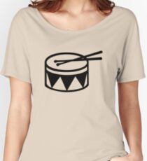 Drum drumsticks Women's Relaxed Fit T-Shirt