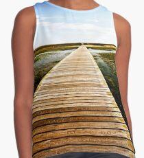 Sandwich Boardwalk by Jobe Waters Contrast Tank