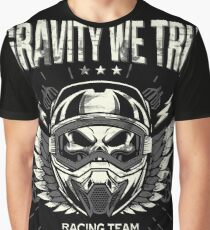 Downhill Gravity Freeride MTB Bike (Be Bad Edition) Graphic T-Shirt