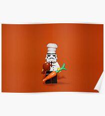 Stormtrooper Cook'ing Poster