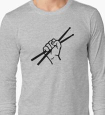 Drummer drumsticks Long Sleeve T-Shirt