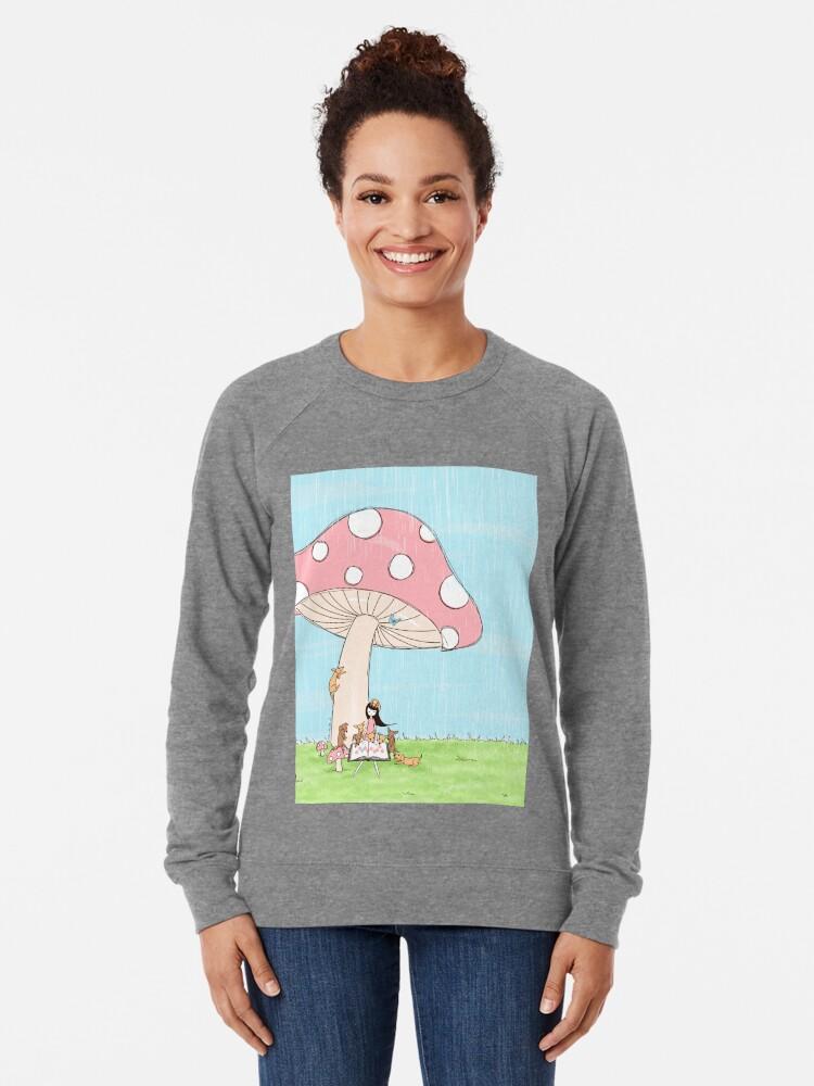 Alternate view of Under The Mushroom Lightweight Sweatshirt