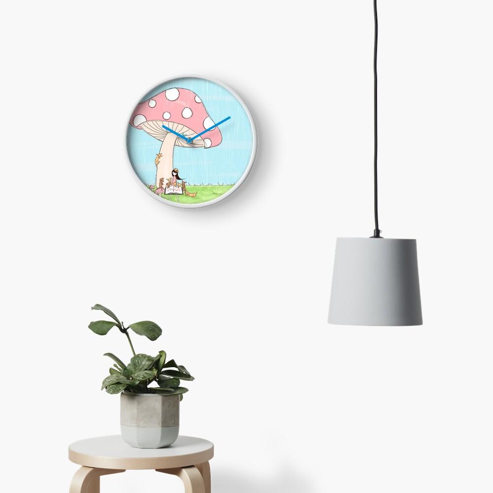 Under The Mushroom Clock