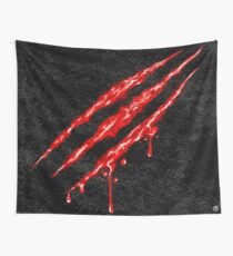 Claw Marks  Wall Tapestry