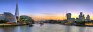 London Panorama seen from Tower bridge by Delfino