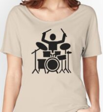 Drums drummer Women's Relaxed Fit T-Shirt
