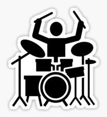 Drums drummer Sticker