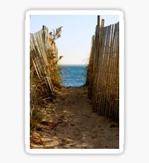 Beach Path by Jobe Waters Sticker
