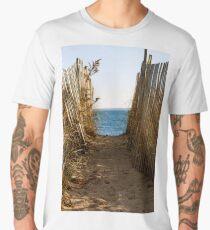 Beach Path by Jobe Waters Men's Premium T-Shirt