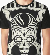 Rockabilly Greaser Mechanics Vintage Design Graphic T-Shirt