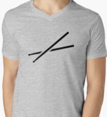 Drumsticks Mens V-Neck T-Shirt