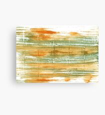 Vegas gold abstract watercolor background Canvas Print