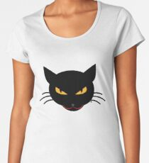 Evil Kitty Women's Premium T-Shirt