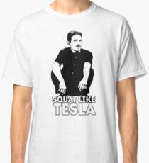 Tesla Squating Classic T-Shirt