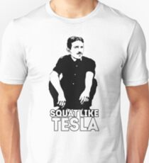 Tesla Squating T-Shirt