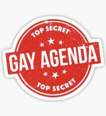Pegatina Agenda Gay