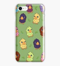 Chocobo Parade iPhone Case/Skin