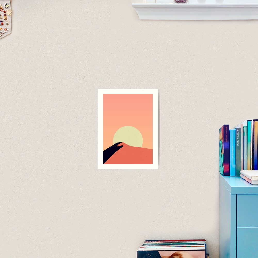Desert Warmth Art Print