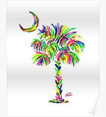 South Carolina is Simply Amazing Palm Tree Poster