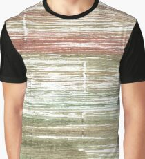 Grullo abstract watercolor background Graphic T-Shirt