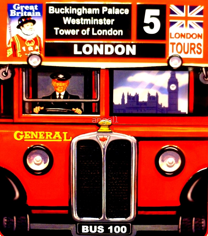 London Bus 100 by ©The Creative  Minds