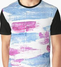Baby blue eyes abstract watercolor background Graphic T-Shirt