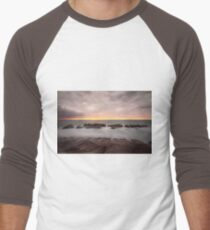 Long exposure dusk Men's Baseball ¾ T-Shirt