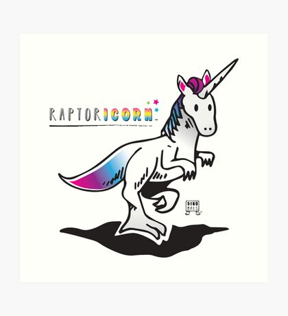 RAPTORICORN™ Art Print